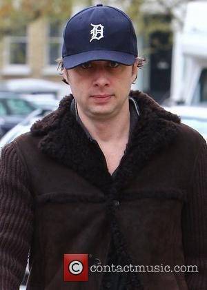 Zach Braff out and about in Primrose Hill London, England - 24.04.12
