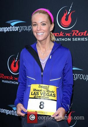 Kate Gosselin 2012 Zappos.com Rock 'n' Roll Marathon & 1/2 Marathon, benefiting the Crohn's & Colitis Foundation of America Las...