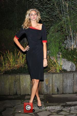 Tamsin Egerton,  at the Zeitz Foundation and ZSL gala at London Zoo. London, England - 22.11.12
