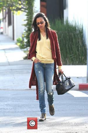 Zoe Saldana Rescues Elderly Lady After Car Crash