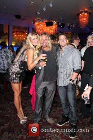 Vince Neil; Jeff Timmons Zowie Bowie And Friends Opening Night at Bally's Casino & Hotel for Vintage Vegas Entertainment...