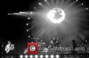 David Gilmour, Scott Page, Nick Mason and Guy Pratt