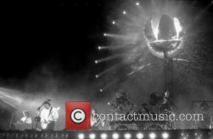 Tim Renwick, David Gilmour, Scott Page and Nick Mason