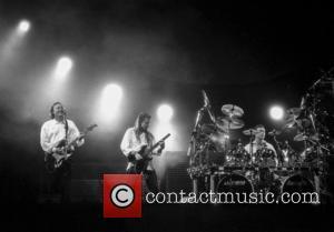 David Gilmour, Scott Page and Nick Mason
