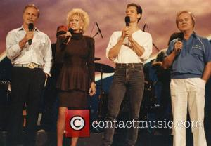 George Jones, Vern Gosdin, Tammy Wynette and Randy Travis