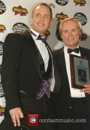 George Jones and Garth Brooks