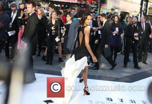 Zoe Salanda - U.K. premiere of 'Star Trek Into Darkness 3D' held at the Empire Cinemas - Arrivals - London,...