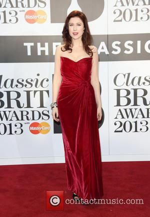 Hayley Westenra - The Classic Brit Awards 2013 held at the Royal Albert Hall - Arrivals - London, United Kingdom...