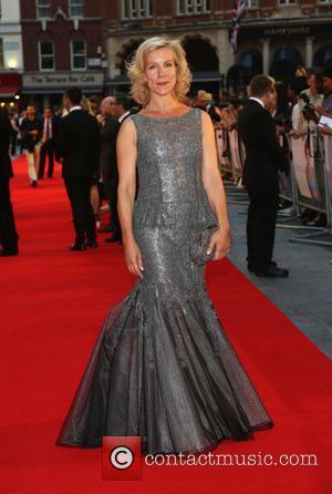 Juliet Stevenson - Diana UK film premiere held at the Odeon Leicester Square - Arrivals - London, United Kingdom -...