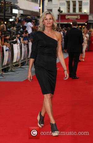 Linda Barker - Diana UK film premiere held at the Odeon Leicester Square - Arrivals - London, United Kingdom -...
