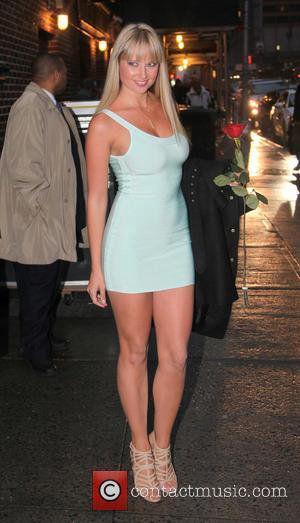 Genevieve Morton - 2013 Sports Illustrated Swimsuit models on Letterman - New York, NY, USA - Saturday 1st January 2000