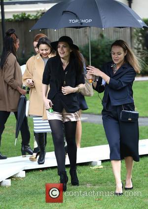 Hayley Atwell - London Fashion Week SS14  - Topshop Unique - ArrivalsLondon Fashion Week SS14  - Topshop Unique...