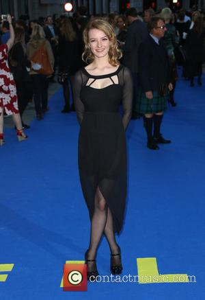 Dakota Blue Richards - UK premiere of Filth held at the Odeon - Arrivals - London, United Kingdom - Saturday...