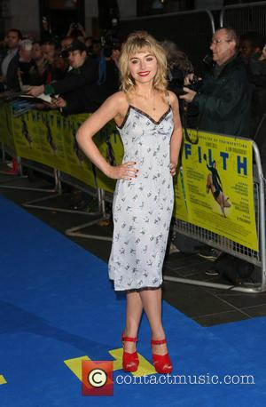 Imogen Poots - UK premiere of Filth held at the Odeon - Arrivals - London, United Kingdom - Saturday 1st...