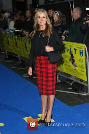 Tamzin Outhwaite - UK premiere of Filth held at the Odeon - Arrivals - London, United Kingdom - Saturday 1st...