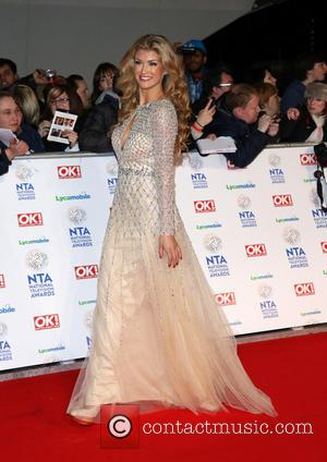Amy Willerton - The National Television Awards 2014 (NTA's) held at the O2 Arena - Arrivals - London, United Kingdom...