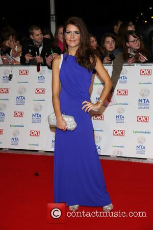 Gemma Oaten - The National Television Awards 2014 (NTA's) held at the O2 Arena - Arrivals - London, United Kingdom...