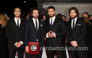 Santiago Cabrera, Tom Burke, Luke Pasqualino, Howard Charles and The Musketeers - The National Television Awards 2014 (NTA's) held at...