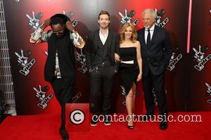 Kylie Minogue, Will.i.am, Ricky Wilson and Sir Tom Jones