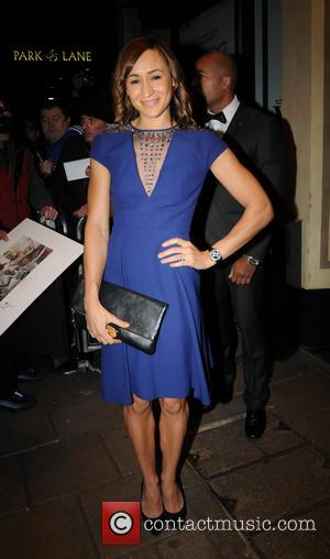 Jessica Ennis - HardlyEverWornIt Halloween Party held in the Penthouse Suite at The Dorchester hotel - Outside - London, United...