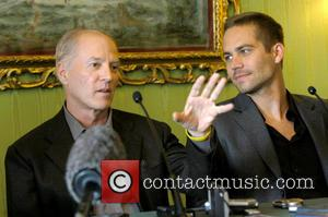 Director Frank Marshall and Paul Walker