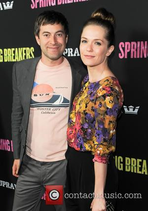 Mark Duplass and Katie Aselton - The Los Angeles premiere of 'Spring Breakers' held at the Archlight Hollywood - Arrivals...