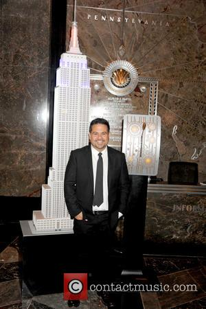 Narciso Rodriguez - Fashion designer Narciso Rodriguez lights The Empire State Building - New York, New York, United States -...