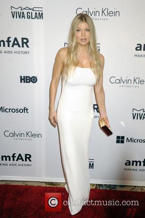 Fergie Duhamel - AmfAR Inspiration Gala New York 2014 - New York, New York, United States - Wednesday 31st December...
