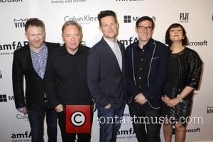 Phil Cunningham, Bernard Sumner, Tom Chapman, Stephen Morris and Gillian Gilbert (new Order)