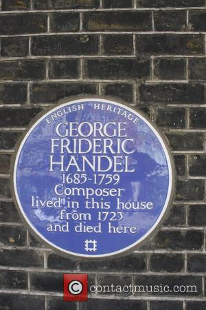 Jimi Hendrix and Georg Frideric Handel Blue Plaque