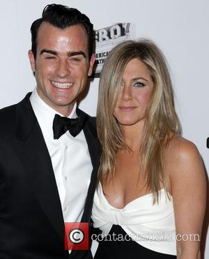 Justin Theroux and Jennifer Aniston - 26th American Cinematheque Award Gala honoring Ben Stiller at The Beverly Hilton Hotel -...