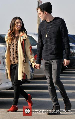 Shenae Grimes and Josh Beech - EXCLUSIVE Shenae Grimes and fiance Josh Beech enjoy a romantic stroll along Santa Monica...