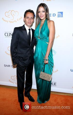 Marc Anthony and Shannon De Lima - 2012 Happy Hearts Fund Land of Dreams: Mexico Gala at the Metropolitan Pavilion...