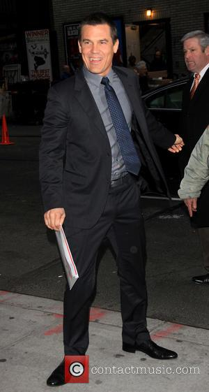 Josh Brolin - Celebrities at the Ed Sullivan Theater for 'The Late Show with David Letterman' - New York City,...