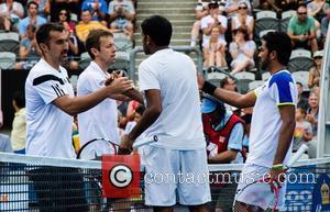 Tennis, Nenad Zimonjic, Daniel Nestor, Rohan Bopanna and Aisam-ul-haq Qureshi