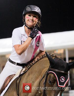 Georgina Bloomberg - Nespresso 5th Annual Battle of The Sexes during the 2013 FTI Consulting Winter Equestrian Festival at the...