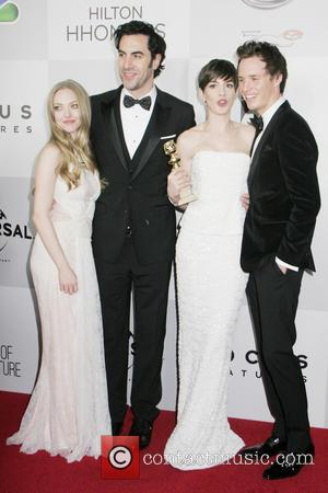 Amanda Seyfried, Sacha Baron Cohen, Anne Hathaway and Eddy Redmayne - NBC Universal's 70th Annual Golden Globe Awards After Party...