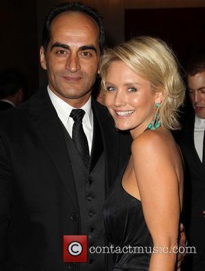 Navid Negahban and Guest - Golden Globe Awards Post Party Los Angeles California USA Sunday 13th January 2013
