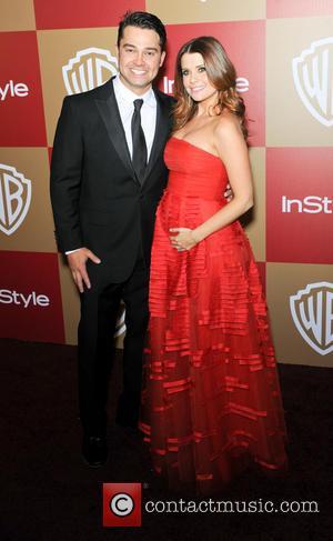 Nick Swisher and Joanna Garcia