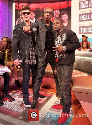 Robin Thicke, JB Smoove and Kevin Hart