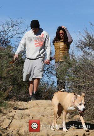 Channing Tatum and Jenna Dewan walk their dogs