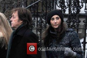 Paul McCartney and Nancy Shevell - Paul McCartney and family out and about in Notting Hill London United Kingdom Tuesday...