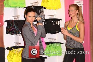 Adriana Lima and Erin Heatherton