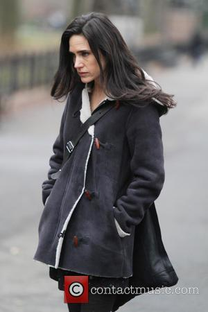 Jennifer Connelly - Winters tale movie set New York City NY USA Tuesday 15th January 2013