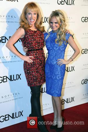 Kathy Griffin and Kristin Chenoweth