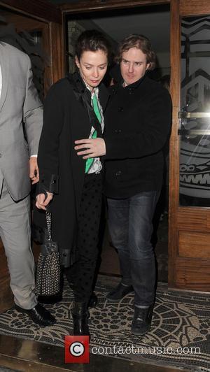 Anna Friel - Anna Friel Leaving Groucho London United Kingdom Wednesday 16th January 2013