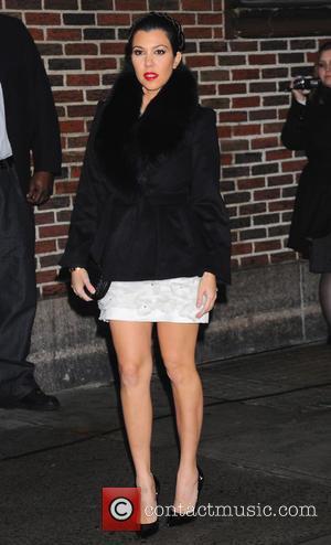 Kourtney Kardashian, David Letterman Show