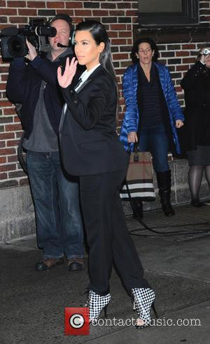 Kim Kardashian, David Letterman Show