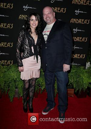 Deanna Burditt and Rick Harrison - Andrea's Restaurant grand opening Las Vegas Nevada United States Wednesday 16th January 2013