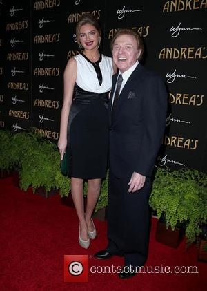 Kate Upton and Steve Lawrence - Andrea's Restaurant grand opening Las Vegas Nevada United States Wednesday 16th January 2013